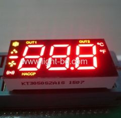 3 1/2 digit 7 segment led display; multi color led display; multi color 7 segment; Refrigerator led display