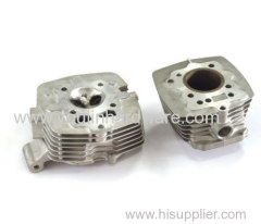 Cylinder block parts for motor