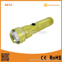 POPPAS 6612 New USB Charger Multifunctional RoHS Power Bank Led Torch Flashlight for Mobile Charging