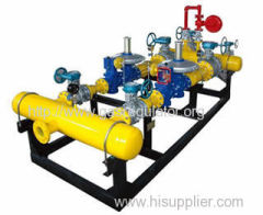 CNG pressure reducing station