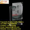Fuguanda acrylic menu holder memo holder paper holder