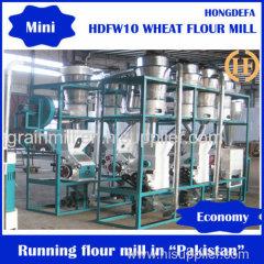 10T/24H wheat four grinder wheat flour miller wheat flour equipment