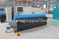 hydraulic variable rake angle guillotine cutting machine