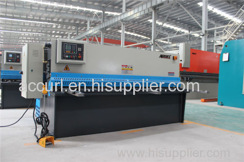 ACCURL mild metal guillotine MACHINE