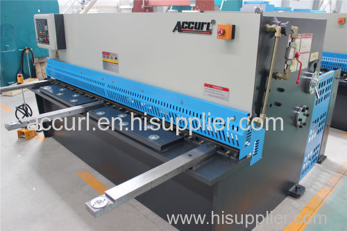 4x2500mm NC hydraulic cutting steel machine