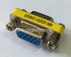 Adapter VGA Female to VGA Female mini gender changer