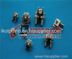 US Type Wire Rope Clips -Stainless Steel AISI316/AISI304 wire bending related products