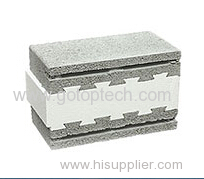 Styrofoam block insert themo mould polystyrene block insert mould
