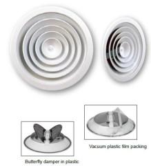 Aluminium Circular Diffuser