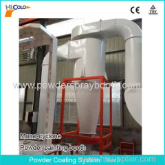 Automatical Powder Painting Booth with Mono Cyclone in China