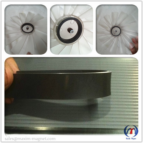 Cooling Fan Motors Rubber Magnets