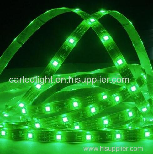 Ultra Bright IP65 Waterproof SMD 5050 Flexible Led Strips Green Single Color