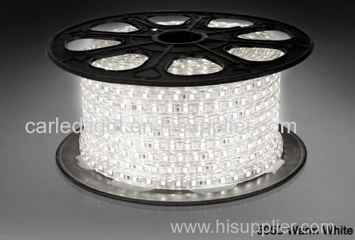White / Purple IP68 5050 SMD Flexible Led Strips 72W for Decorative