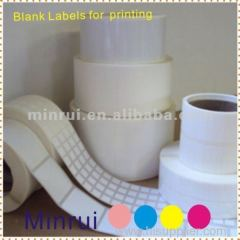 Minrui Produce Adhesive Specialized Blank Barcode Labels Nice Price High Quality Anti-counterfeit Barcode Stickers