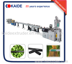 Cylindrical drip irrigation pipe making machine KAIDE