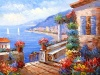 100% Handmade High Quality Mediterranean Oil Painting for Living Room