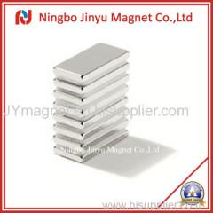 N35sh 150℃Tem Neodymium Block Magnet With Ni Coated