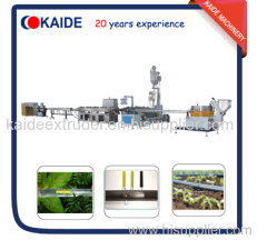 180m/min Drip irrigation tape making machine KAIDE flat dripper