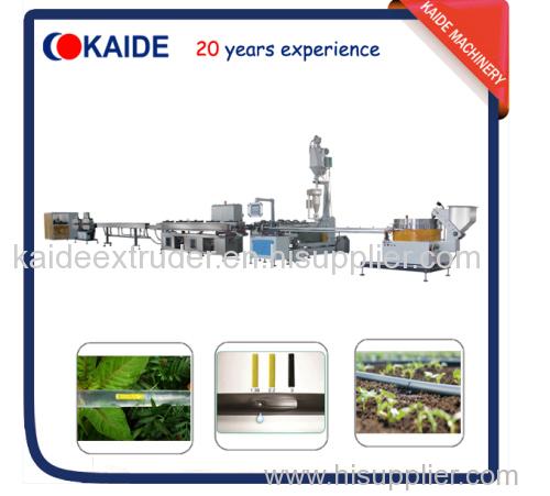 180m/min Drip irrigation tape making machine KAIDE flat dripper