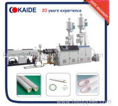 28m/min PPR glass-fiber composite pipe making machine KAIDE