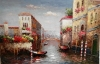 100% Handmade High Qualitty Mediterranean Oil Painting for Living Room