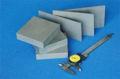 High hardness cemented carbide plate