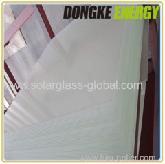 4mm thick toughened coated glass for factory