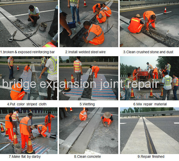 Rapid bridge expansion joint repair products from China