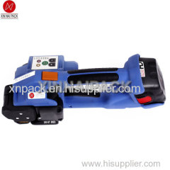 battery plastic strapping tool