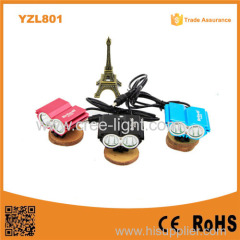 YZL801 OWL design Multifunction headlamp 2000lm super Power XML T6 LED Front bike light