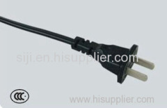HOT! Superior quality CCC approval 2pin AC power plug
