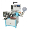 Ultrasonic label cutting and folding machine
