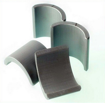 High Quality N42 Neodymium Arc Segment Magnets For Motor
