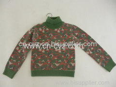 Boys' Autumn & Winter Wool & Acrylic Sweaters
