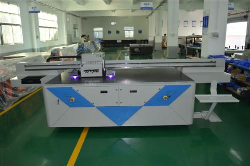 metal uv led flatbed printer metal uv printer with two heads