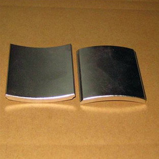 N48eh Arc Segment Magnets For Synchronous Motor