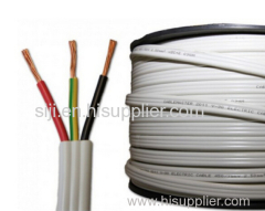 UL certification 3 core round and pfat power cord cable SPT-1/SPT-2/SPT-3