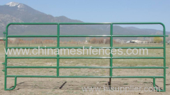 powder coated portable horse fence powder coated corral horse panel powder coated Cattle Corral Panel