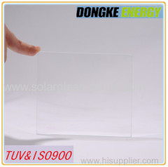 Low price with 3.2mm solar panel glass