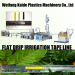 Flat dripper irrigation tape extruder machine KAIDE 180m/min