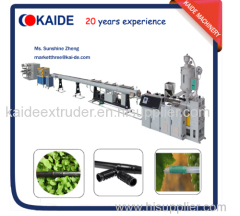 Mosaic column emitter type drip irrigation pipe extruder machine KAIDE