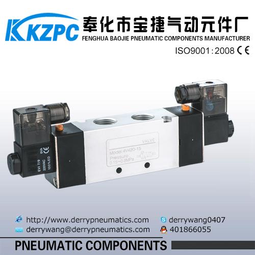 DC24V Aluminum 3 /2 way solenoid valve