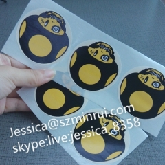 Custom Sticker Printing Street Graffiti Art Non Removable Sticker With Factory Wholesale Ultra- stick Adhesive Labels