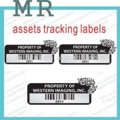 Minrui Hot Wholesale Nice Price Void Security Paper Labels with Barcode After-sales Use Warranty Void Labels