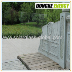 4mm low iron patterned Solar Glass for solar panel