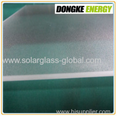 AR coated solar panel cover glass