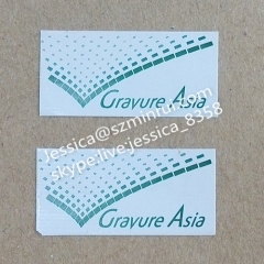 Minrui Supply Wholesale Rectangle Print Comic Tamper Proof Seal Labels Used in Sealing Stickers