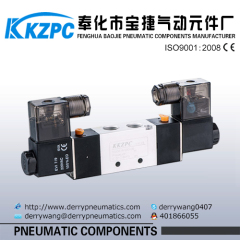 1/2 inch Pilot acting ally material 5 way Solenoid Valve Control Valve