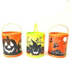 Halloween Pumpkin Light Halloween Led Candy Bucket