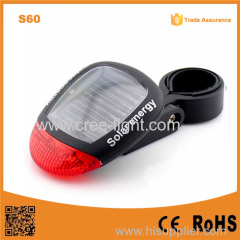 S60 Solar Energy bike light turn signal Bicycle Tail Light for security warning